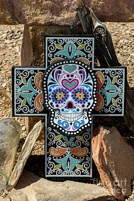 Photograph - Terlingua Cross by Joe Sparks