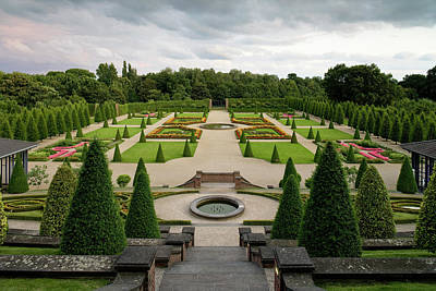 Photograph - Terraced Garden, Kamp Monastery by H. & D. Zielske / Look-foto