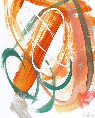 Painting - Terracotta Abstract by Nikol Wikman
