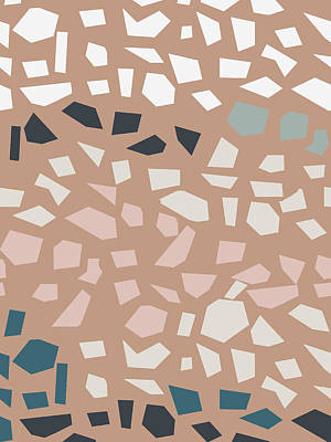 Digital Art - Terrazzo 4- Art By Linda Woods by Linda Woods