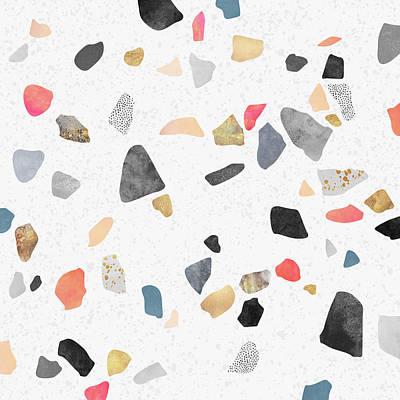 Artwork Digital Art - Terrazzo Treasure by Elisabeth Fredriksson