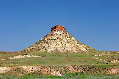 Photograph - Terry Area Butte by Todd Klassy