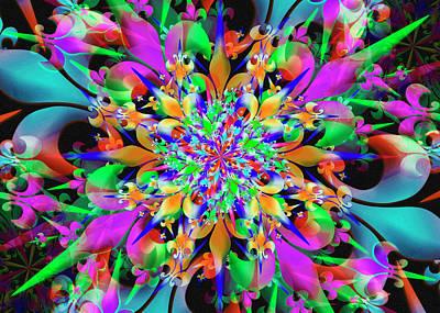 Digital Art - Test Remix One by Vitaly Mishurovsky