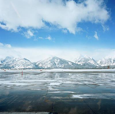 Scenery Photograph - Teton Mountains, Jackson Hole by Bryce Duffy