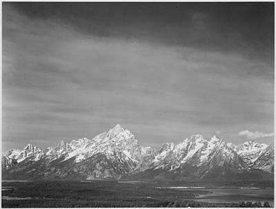 Photograph - Tetons From Signal Mountain by Buyenlarge