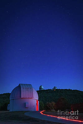 Photograph - Texas Astronomy by Inge Johnsson