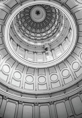 Photograph - Texas Capitol Star by Dan Sproul