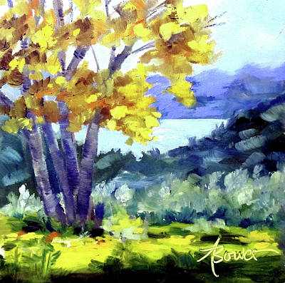 Painting - Texas Hillcountry Fall  by Adele Bower