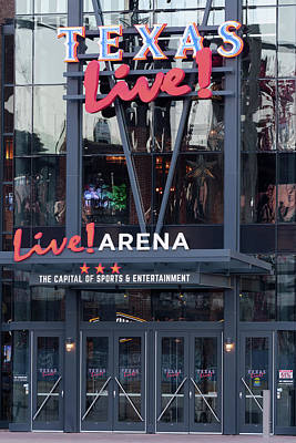 Photograph - Texas Live Arena 030719 by Rospotte Photography