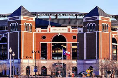 Photograph - Texas Rangers Baseball Home 2019 by Rospotte Photography