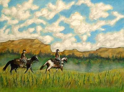 Painting - Texas Spring  by John Lyes