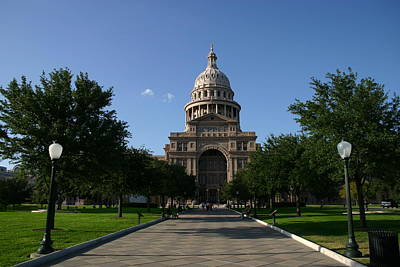 Photograph - Texas State Capitol Building by Xjben