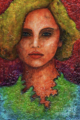 Painting - Textured Beauty 6 by Amy E Fraser