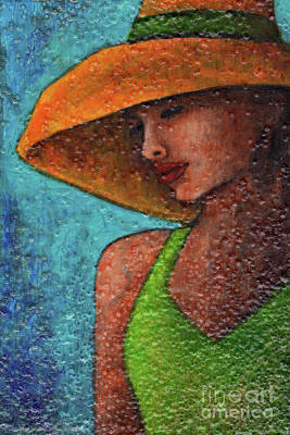 Painting - Textured Beauty 8 by Amy E Fraser