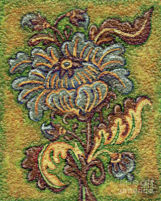 Painting - Textured Tapestry 1 by Amy E Fraser
