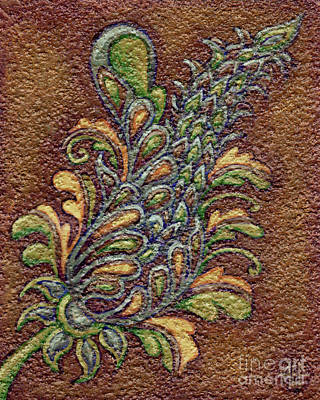 Painting - Textured Tapestry 10 by Amy E Fraser