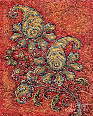 Painting - Textured Tapestry 14 by Amy E Fraser