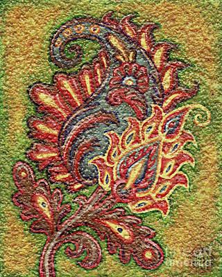 Painting - Textured Tapestry 2 by Amy E Fraser