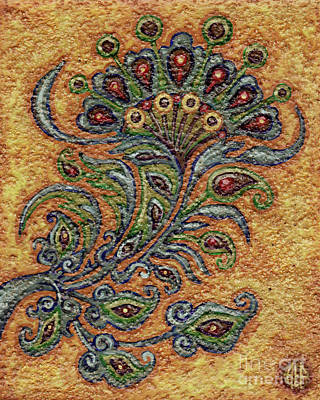Painting - Textured Tapestry 5 by Amy E Fraser