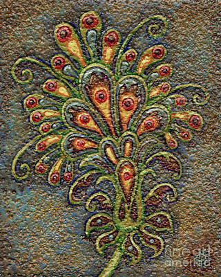 Painting - Textured Tapestry 7 by Amy E Fraser