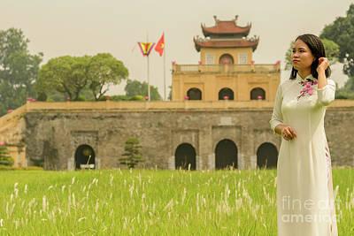 Photograph - Thang Long Imperial Citadel 01 by Werner Padarin
