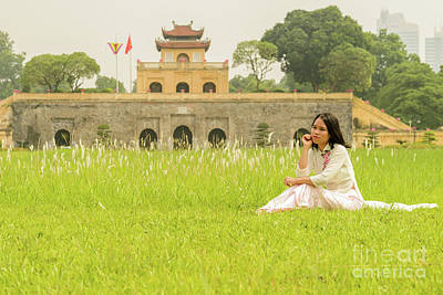 Photograph - Thang Long Imperial Citadel 02 by Werner Padarin