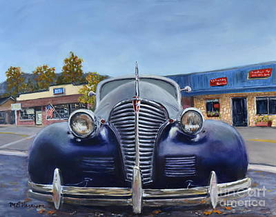 Kids Alphabet - That Old Chevy by Mary Beth Harrison