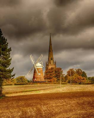 Photograph - Thaxted Village by Chris Cousins