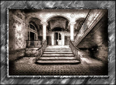 Digital Art - The Abandoned Staircase by Mario Carini
