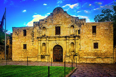 The Alamo Wall Art - Photograph - The Alamo Mission by Garry Gay
