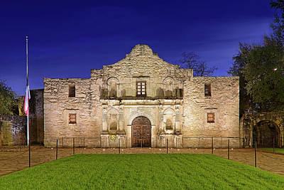 Photograph - The Alamo - San Antonio Mission - Texas by Jason Politte
