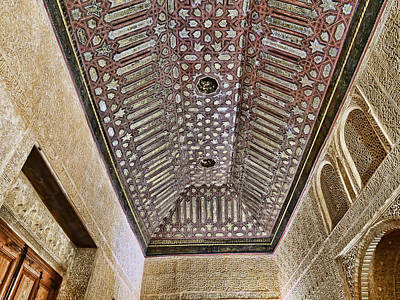Landscapes Royalty-Free and Rights-Managed Images - The Alhambra # 13 - Granada by Allen Beatty