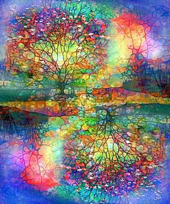 Digital Art - The Amalgamation Of Colour And Light. by Tara Turner
