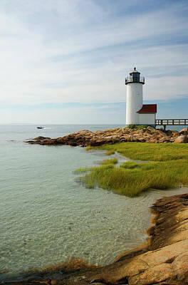 Rockport Wall Art - Photograph - The Annisquam Lighthouse, Annisquam by Ellen Rooney / Robertharding