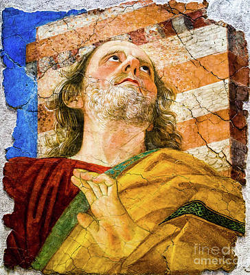 Painting - The Apostle Peter by Melozzo da Forti
