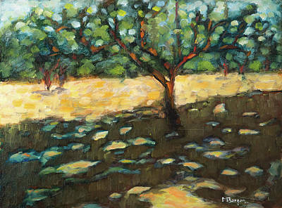 Painting - The Apple Tree by Mike Bergen