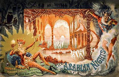 Digital Art - Arabian Nights by Carlos Diaz