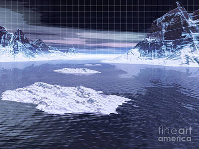 Digital Art - The Arctic by Phil Perkins