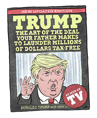Drawing - The Art Of The Deal by Ivan Ehlers