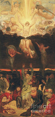 Painting - The Ascension by Ford Madox  Brown