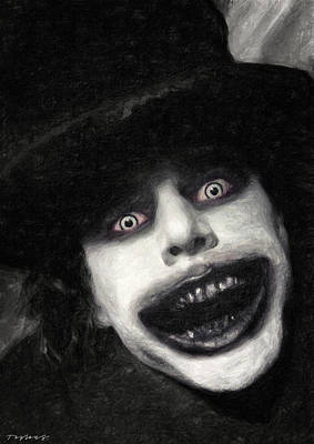 Painting - The Babadook by Zapista Zapista