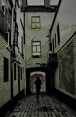 Digital Art - The Back Way by Jason Casteel