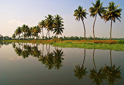 Kerala Photograph - The Backwaters Of Kerala by Photography By Carol Adam