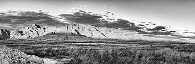 Photograph - The Badlands Panorama by Jim Thompson