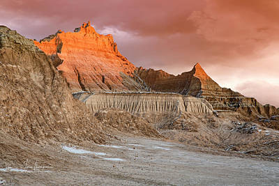 Photograph - The Badlands With Another Sunrise by Jim Thompson