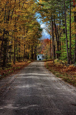 Photograph - The Barn At The End Of The Lane by Jeff Folger