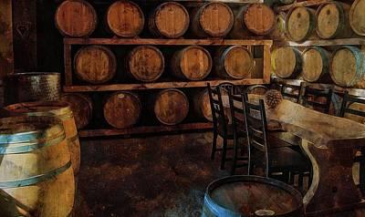 Photograph - The Barrel Room by Thom Zehrfeld