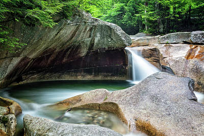 Photograph - The Basin, Springtime Nh by Michael Hubley