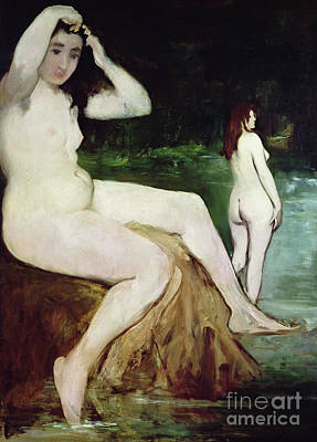 Painting - The Bathers By Manet by Edouard Manet