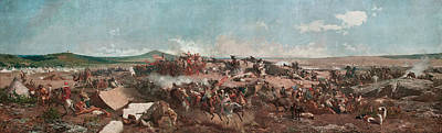 Painting - The Battle Of Tetouan by Maria Fortuny